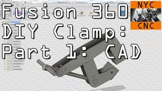 Fusion 360 DIY Clamp Part 1: CAD!  Widget70