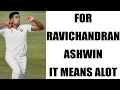 R Ashwin reacts on Bradman of bowling comment..
