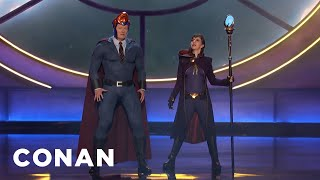 Conan's Nemesis Kristen Schaal Invades #ConanCon - CONAN on TBS