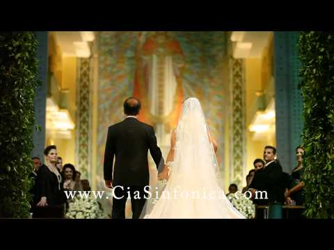 Baixar Entrada Noiva Nathalia | Clarins Dez Mandamentos & Marcha Nupcial | Cia. Sinfônica | Live Wedding