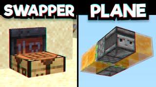 10 Simple Minecraft Redstone Builds! #1