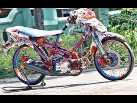 Modifikasi Motor Honda Grand Drag