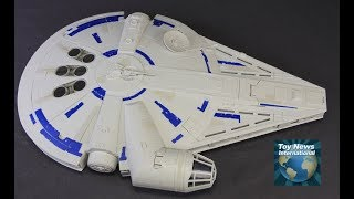 Solo: A Star Wars Story Hasbro Kessel Run Millennium Falcon Toy Review