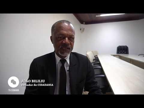 Entrevista com o vereador João Bililiu - CIDADANIA