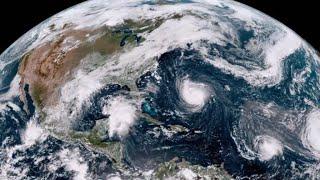 """Huracán Florence, catalogado como """"extremadamente peligroso""""  por las autoridades de EE.UU."""