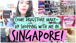 Come Drugstore Makeup Shopping with Me in SINGAPORE! | Ep 1