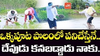 Watch YSRCP MLA RK Doing Farming- Inspiring Leader..
