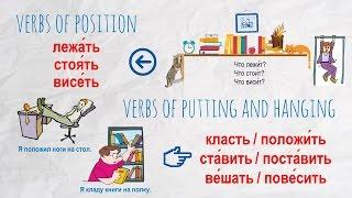 Intermediate Russian II: Verbs of Position and Putting: стоять-ставить, лежать-класть, висеть-вешать
