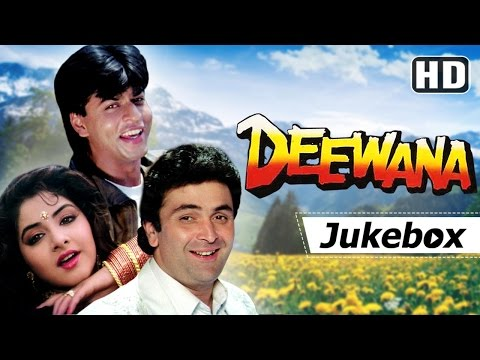 Deewana 1992 Songs HD - Shahrukh Khan, Rishi Kapoor, Divya Bharti | Hits of Kumar Sanu & Alka Yagnik