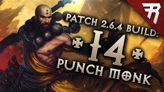 Diablo 3 Season 16 Monk Inna Uliana GR 120+ build guide - Patch 2.6.4