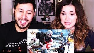 GOD OF WAR - BE A WARRIOR | E3 2017 | PS4 Gameplay Trailer Reaction!