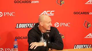 Louisville Men's Basketball - Chris Mack - NCCU Preview 2019-11-15