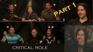 Six of Matthew Mercer's reveals/plot twists that stunned the cast | Critical Role | Part 1