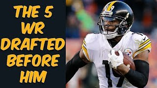 Who Were The 5 Wide Receivers Drafted Before JuJu Smith-Schuster? Where Are They Now?