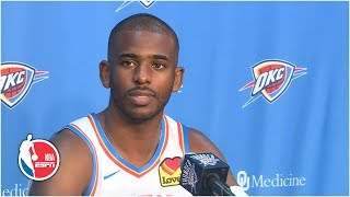 Chris Paul full press conference | Oklahoma City Thunder | 2019 NBA Media Day