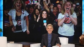 Ellen's Home Run Surprise for World Series Fans!