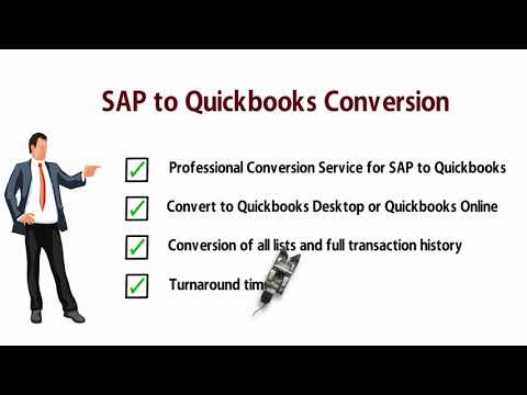 SAP to QuickBooks Data Migration