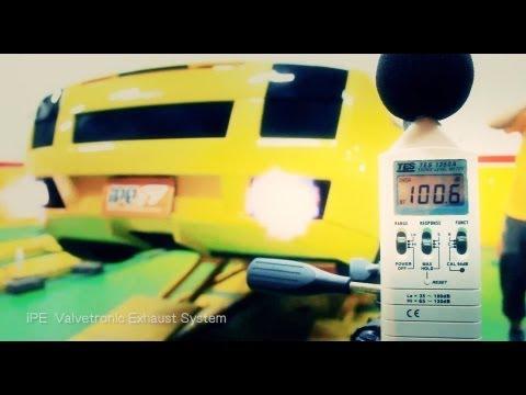 IPE Innotech Exhaust Lamborghini Gallardo LP560