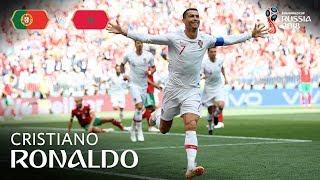 Cristiano RONALDO Goal  - Portugal v Morocco - MATCH 19