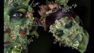 GetTheLouk - Příroda jako Monstrum | Halloween Makeup Tutorial - Zdroj: