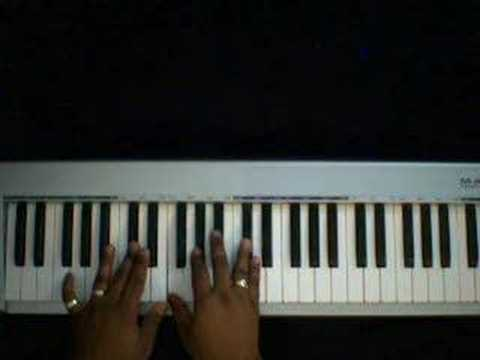 Jazz Run Chord Breakdown - Piano Tutorial