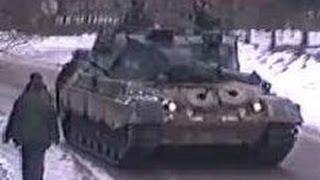 Leopard 1 kampvogne på patrulje i Bosien part 2/2