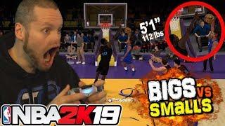 NBA 2K19 Smalls vs TALLS! Shortest Players EVER!