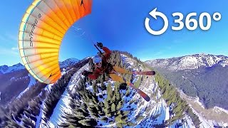 Speed Flying 360 Video Crystal Mountain