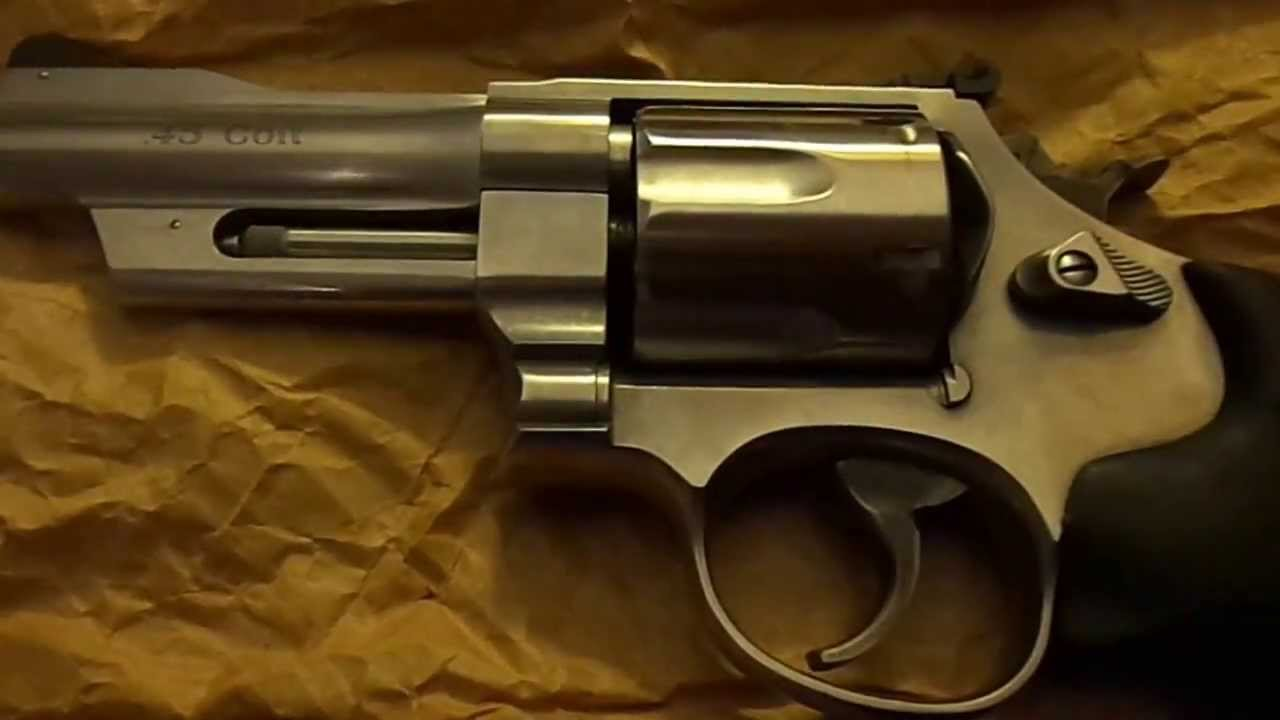 Smith And Wesson 12039 Unboxing: Smith And Wesson 625 Mountain Gun Unboxing