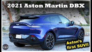 "The Aston Martin DBX is the Prettiest ""Exotic"" SUV, and it Sounds like a Tugboat - One Take"