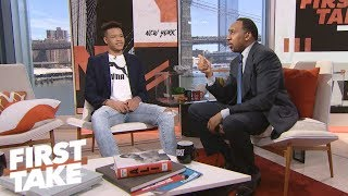Stephen A. and Kevin Knox talk Kristaps Porzingis, Knicks' future | First Take | ESPN