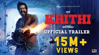 Kaithi Official Trailer- Karthi..