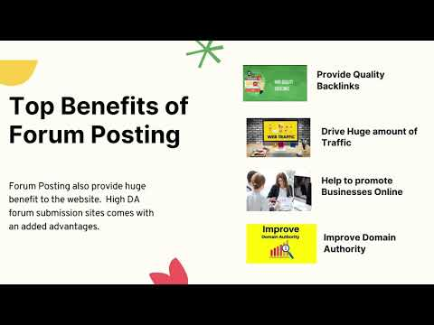 Forum Submission in SEO | Forum Posting Website | SEO Tips