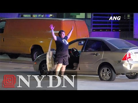 Woman Dances To Future After Police Chase In Los Angeles