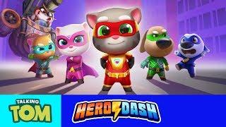 🦝⚡ Raccoon Invasion in Talking Tom Hero Dash! (ALL Trailers)