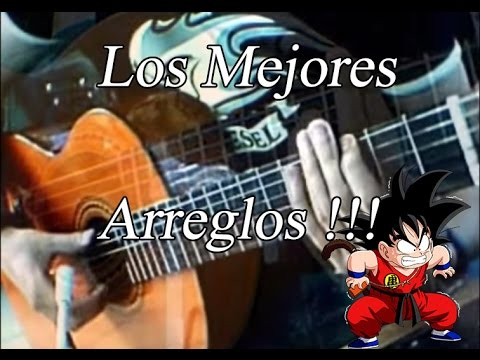Dragon Ball Songs Canciones de Dragon ball en guitarra Cover