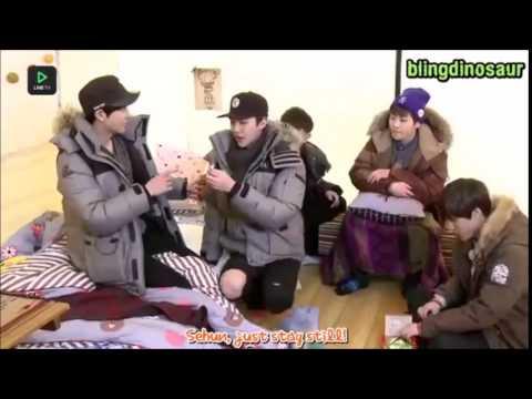 [ENG SUB] EXO SurpLINEs Ep. 1 - Pepero Game Cut