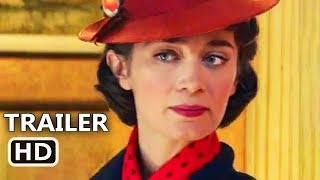 MARY POPPINS RETURNS Official Trailer (2018) Emily Blunt, Disney Movie HD