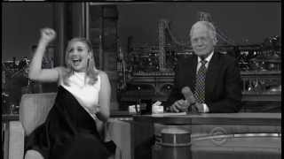 """GRETA GERWIG on """"THE LATE SHOW WITH DAVID LETTERMAN"""" (CBS)"""