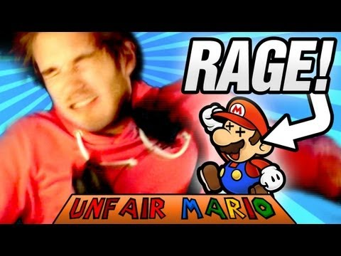 SANITY BROKEN! - Unfair Mario - Part 2 - Smashpipe Games