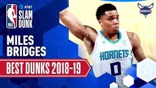 Miles Bridges' Best Dunks of the Season | 2019 AT&T Slam Dunk Participant