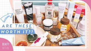 Reviewing MOST Hyped & Popular Skincare Products: Drunk Elephant, Farmacy, Krave & More! (Pt. 1)