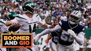 The Cowboys LOSE to the 0-4 Jets! | Boomer & Gio
