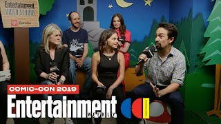 'His Dark Materials' Star Lin-Manuel Miranda & Cast Join Us LIVE | SDCC 2019 | Entertainment Weekly