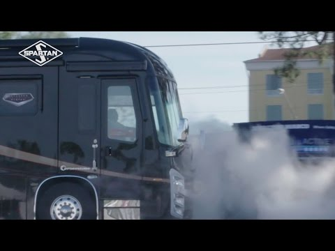 Spartan Motors, Inc. (NASDAQ: SPAR) demonstrates its groundbreaking Advanced Protection System(R) (APS) driver safety technology at the Florida RV SuperShow this week, complete with a simulated crash scenario in which an APS-enabled RV successfully avoids a collision without driver interference.