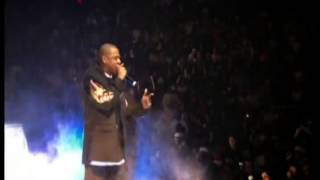 Jay-Z's Live show footage at Madison Square Garden on 25th November 2003