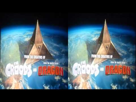Dreamworks Home 3d Trailer in 3d CAM