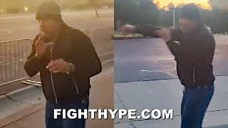 """""""REMATCH ANYONE"""" - DE LA HOYA REACTS TO MAYWEATHER 2020 COMEBACK; PUTTING IN EARLY MORNING WORK"""