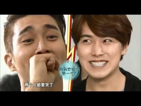 140808 Ultimate Group Super Junior - Siwon, Eunhyuk, Sungmin Eyes Battle
