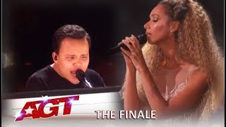 Kodi Lee With Leona Lewis Grand Finale Performance! | America's Got Talent 2019